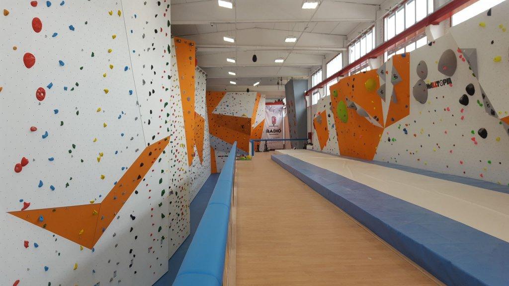 Nuova palestra di arrampicata - San Zeno Naviglio - 2016 - Realizzata