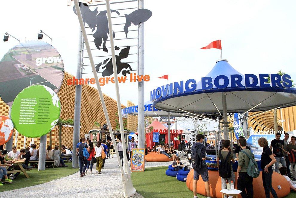 Padiglione dei Paesi Bassi a EXPO2015 - 2015 - Realizzato