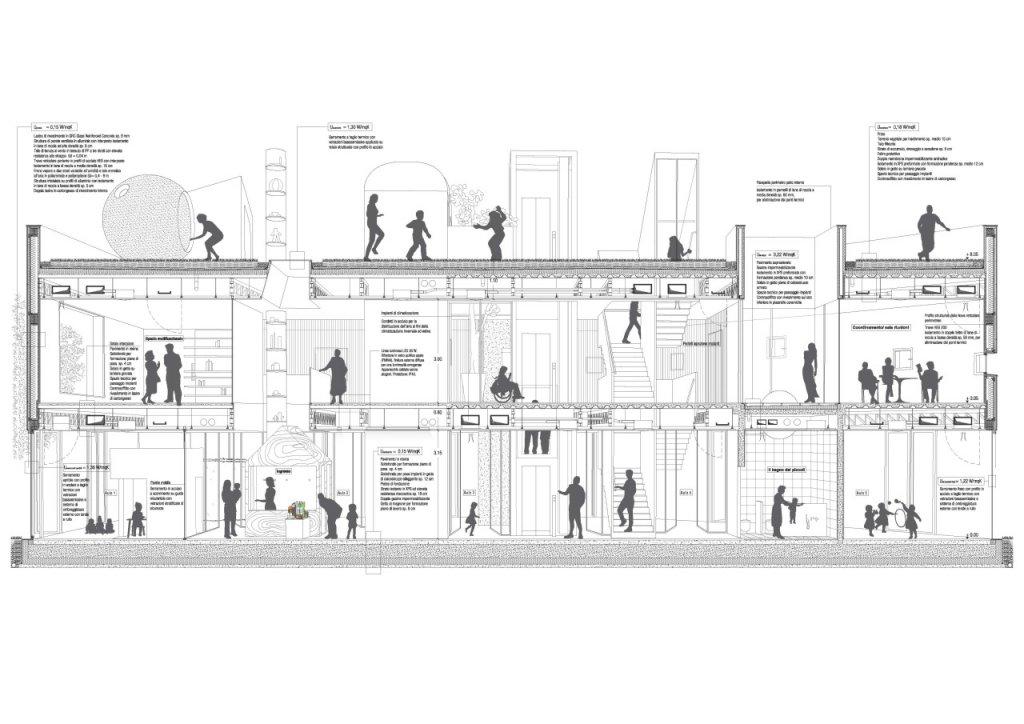 """Concorso internazionale per la progettazione del """"Padiglione dell'Infanzia"""" - Milano 2014 - Ammesso 2° fase"""